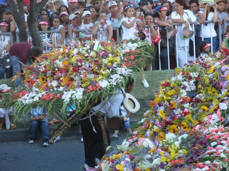 Exposición de Silletas Feria de Flores